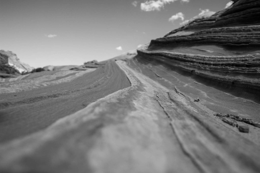 BW, The Wave, USA, Utah