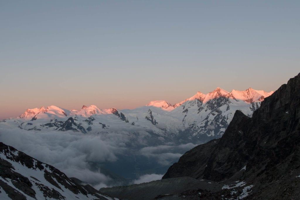 Fletschhorn, Hochtour, Lagginhorn, Switzerland, Wallis