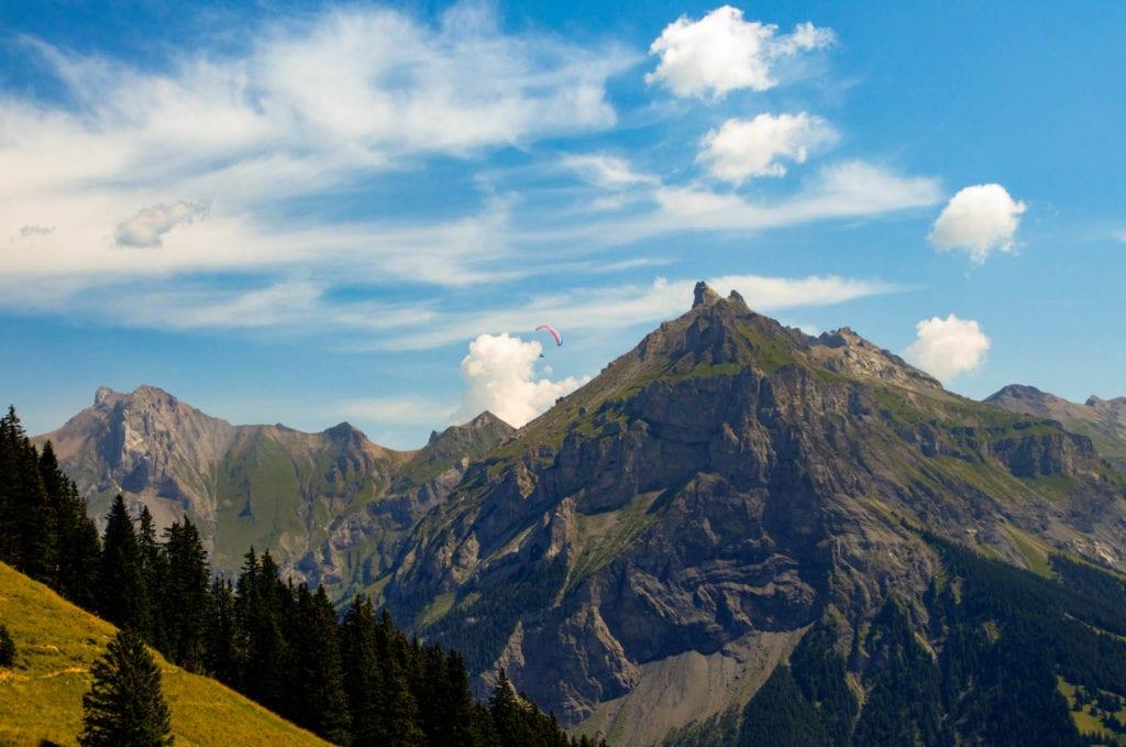 Berner Oberland, Kandersteg, Klettersteig, Schweiz