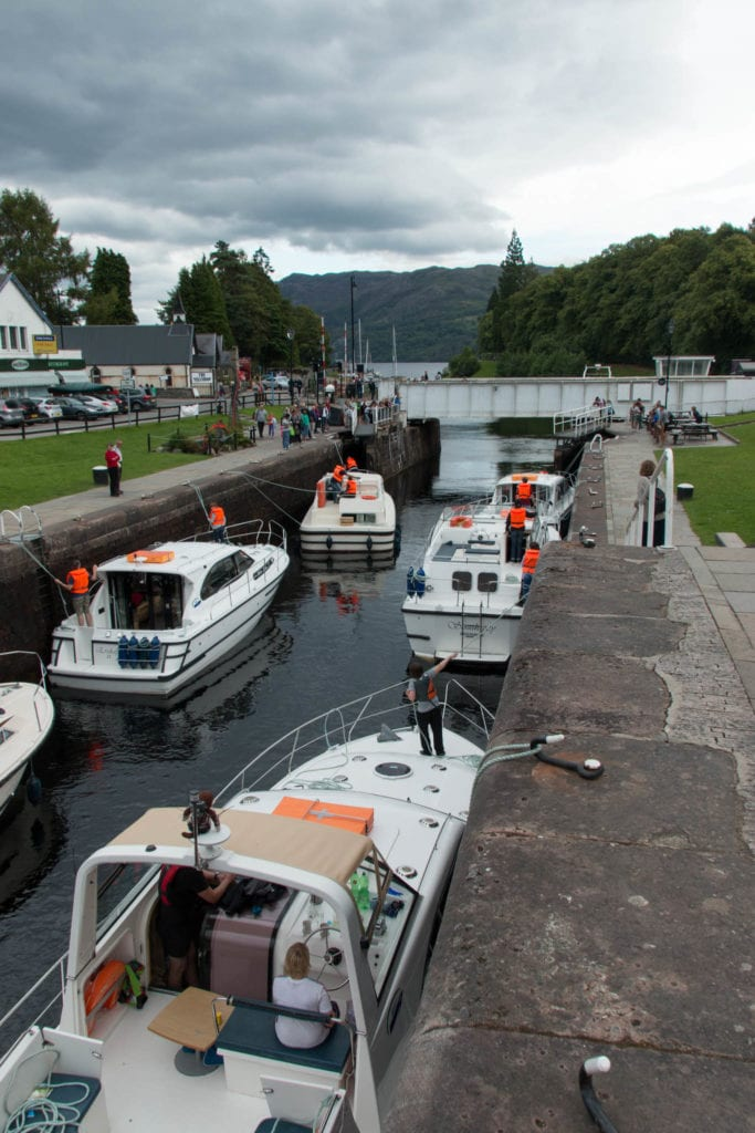 Fort Augustus, Loch Ness, Scotland, UK