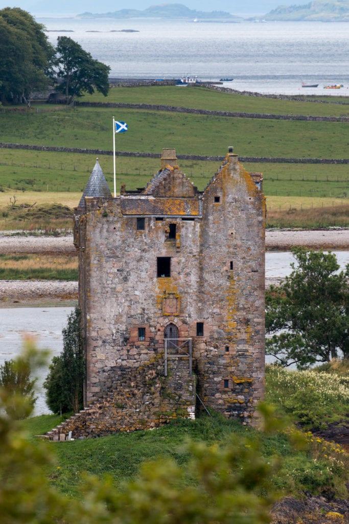 Castle Stalker, Fort William, Scotland, UK