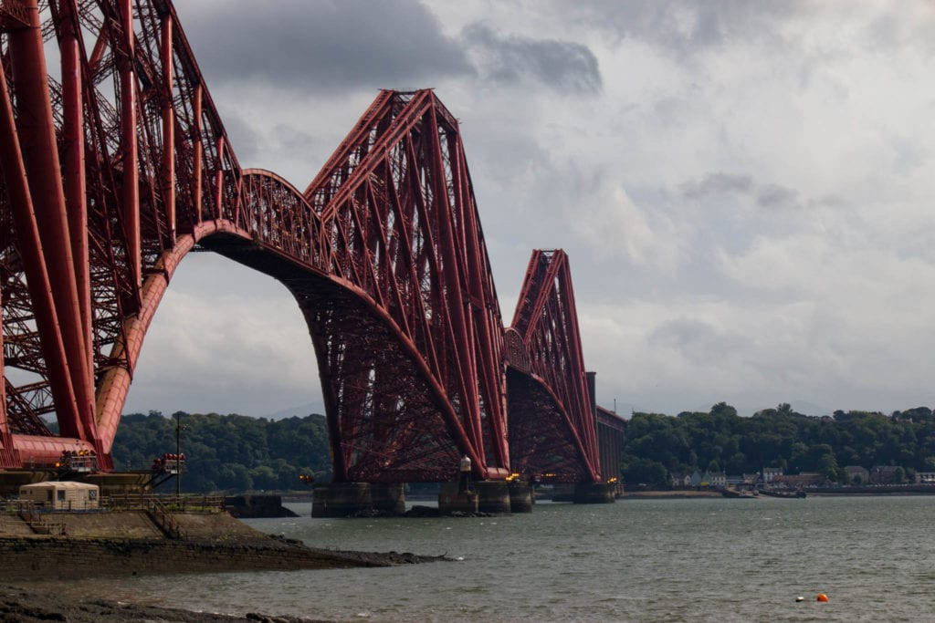 Forth Road Bridge, Scotland, UK