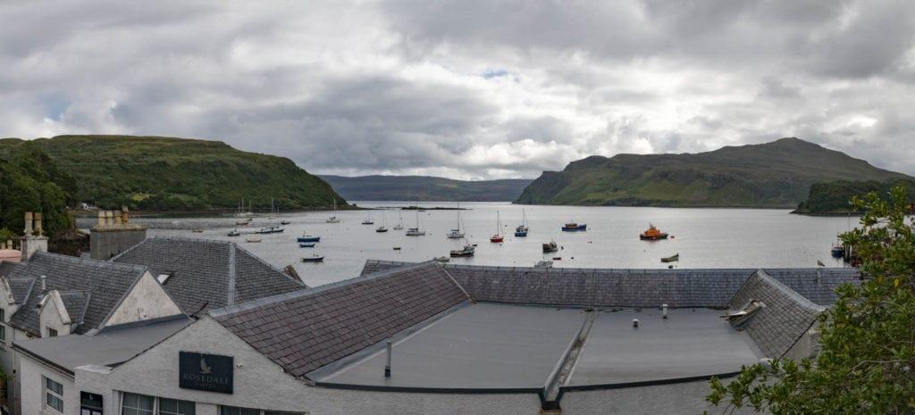 Isle of Skye, Portree, Scotland, UK