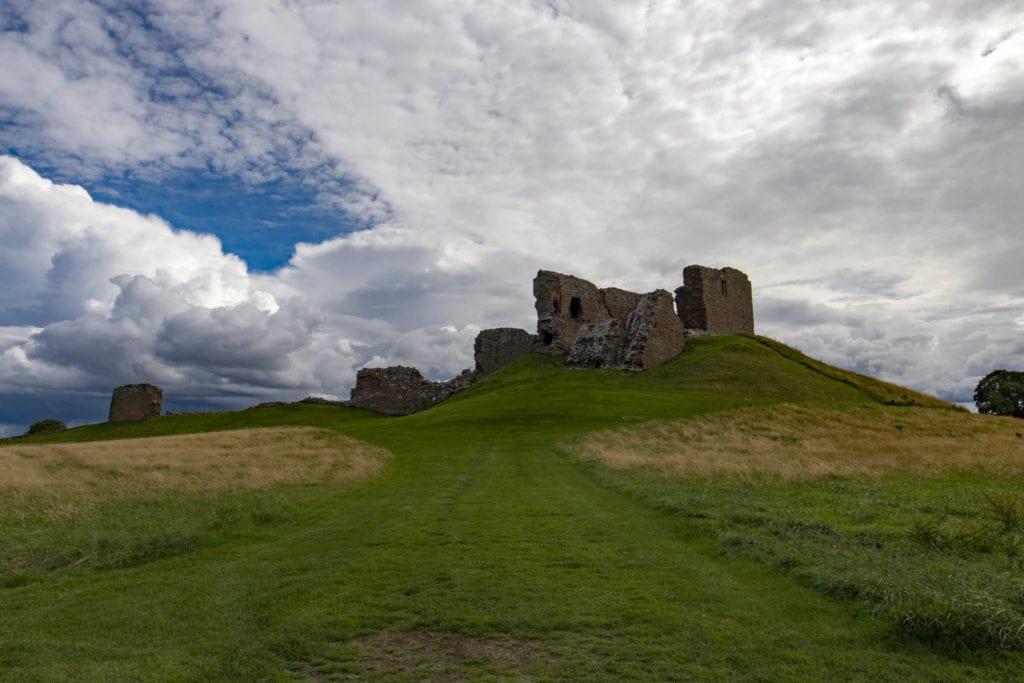 Duffus Castle, Scotland, UK