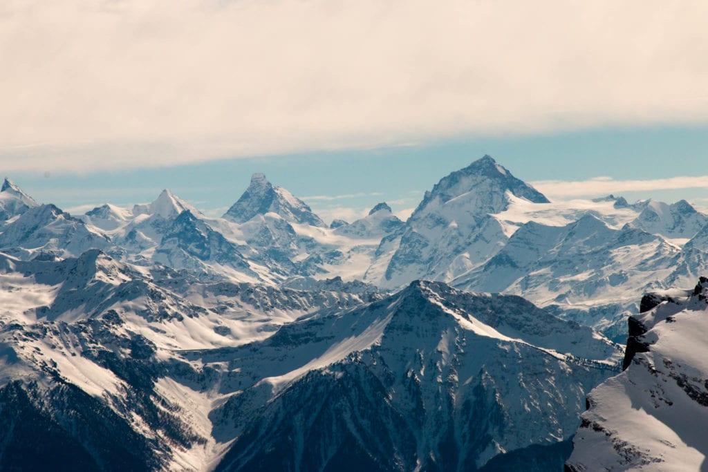 Bern, Berner Oberland, Schweiz, Skitour