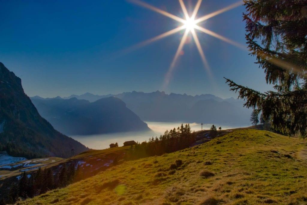 Einsiedeln, Schweiz, Schwyz, Wandern