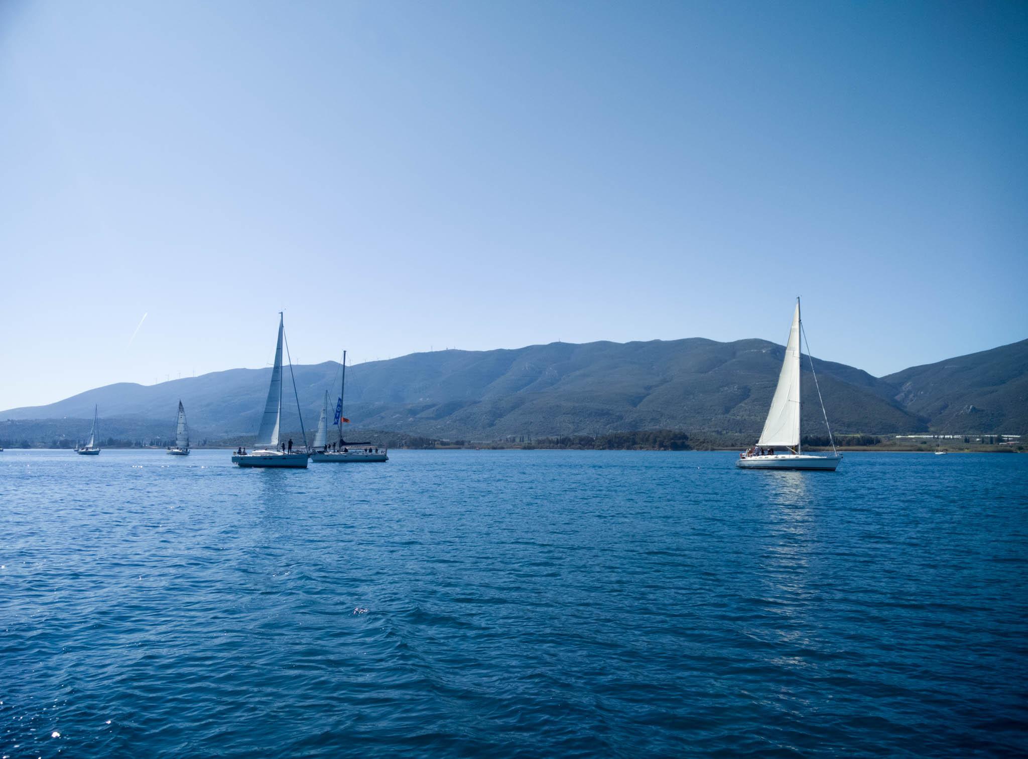 Sailing Poros Apr 2017