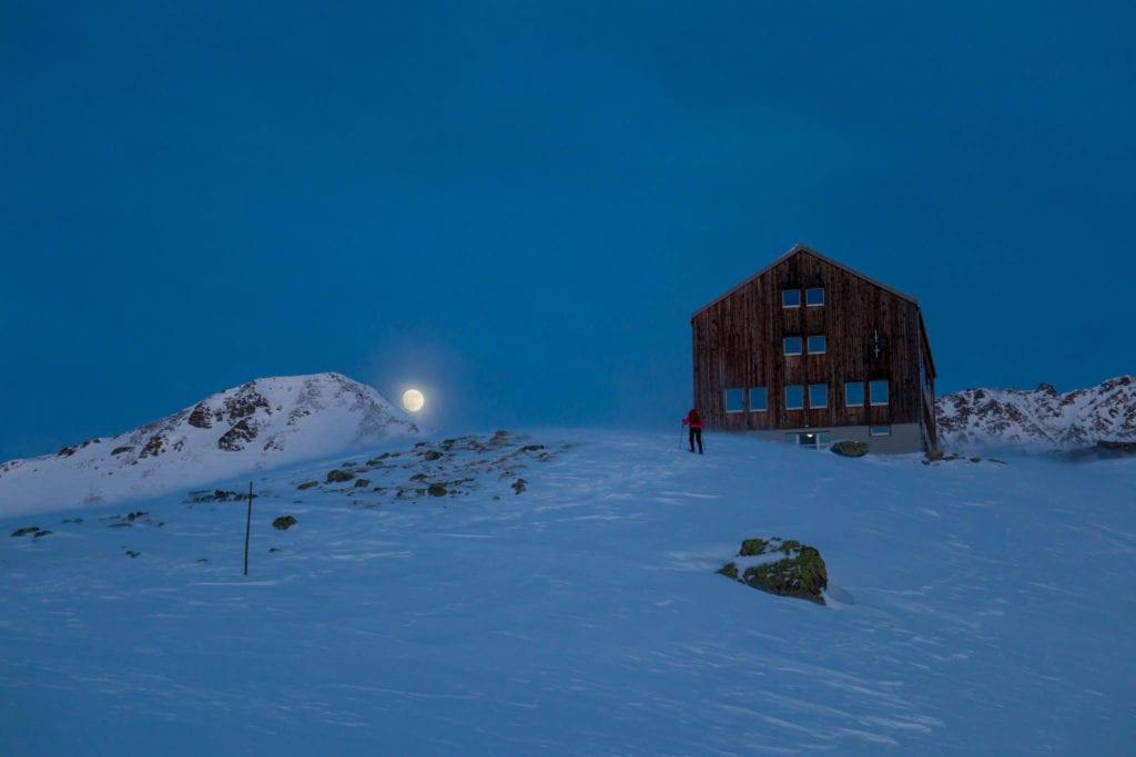 Bergün, Druesberghütte, Graubünden, Keschhütte, Nouvel An, Schweiz, Schwyz