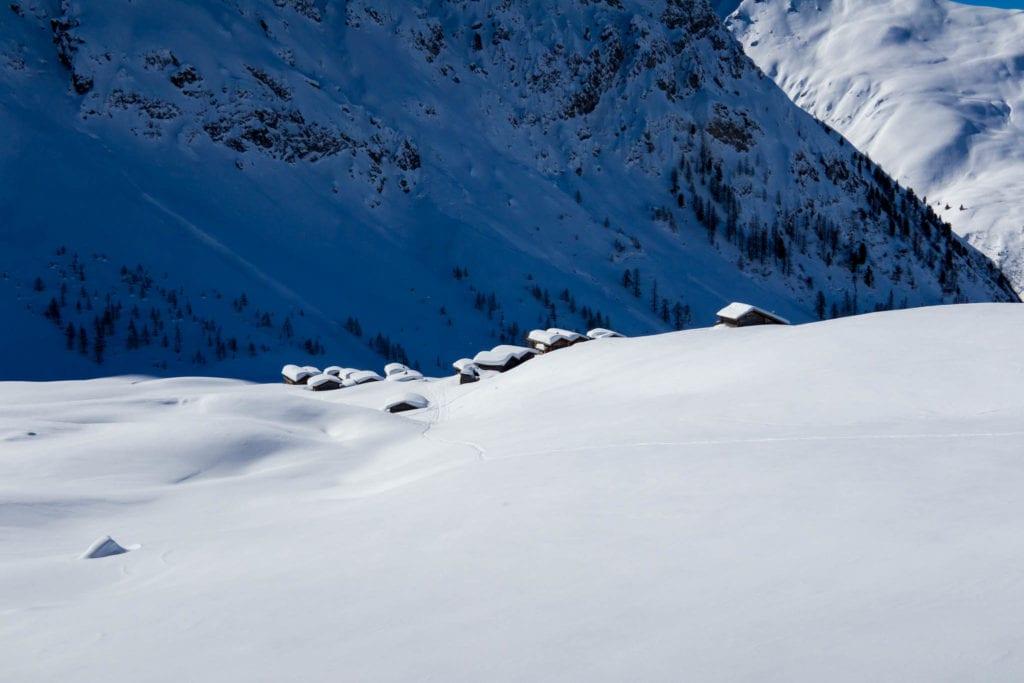 Davos, Fondai, Graubünden, Schweiz, Skitour, Stelli, Strelapass
