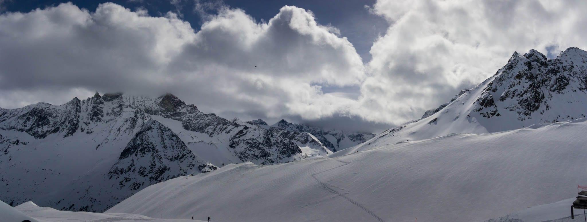 Mont Blanc de Cheillon Apr 2018
