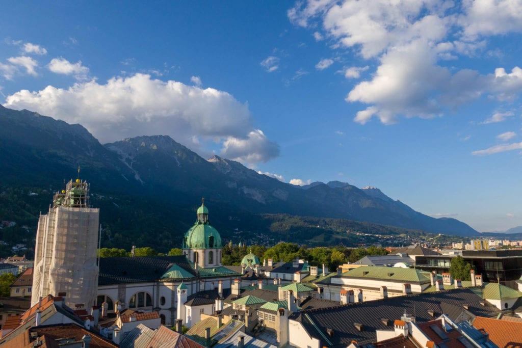 Innsbruck, Skydiving, Österreich