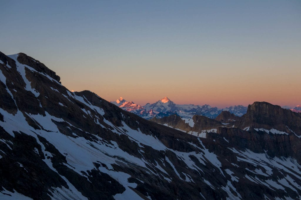 Balmhorn, Bern, Hochtour, Schweiz, Wallis