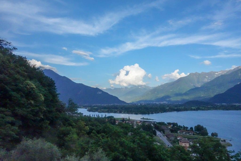 Gera Lario, Italien, Kitesurfing, Lago di Como