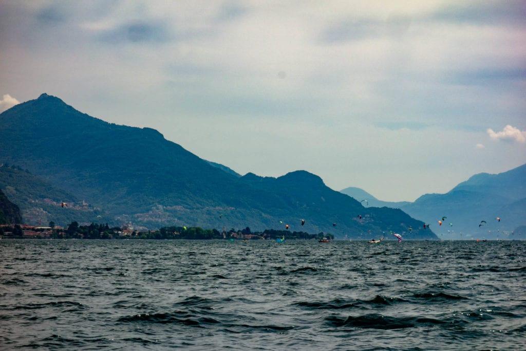Gera Lario, Italia, Italien, Kitesurfing, Lago di Como
