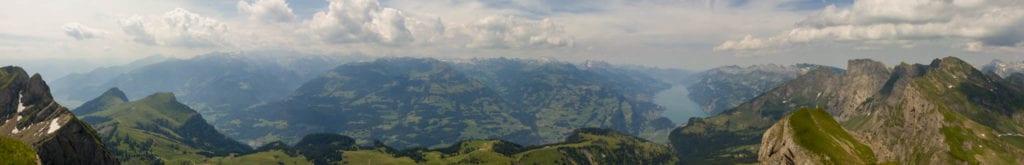 Alvier, Schweiz, St. Gallen, Wandern