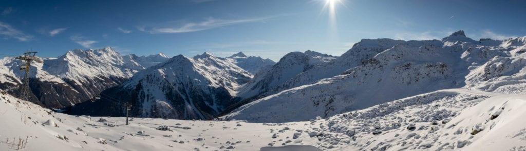 Grimentz, Schweiz, Wallis