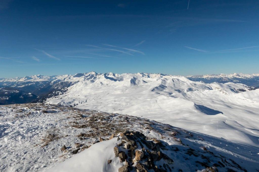 Graubünden, Mattjisch Horn, Schweiz, Skitour